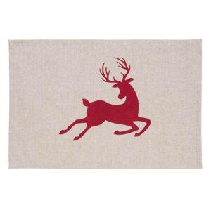 Prostírání Hello Deer  - 48*33 cm - sada 6ks Clayre & Eef