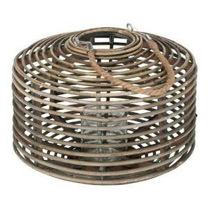 Ratanová lucerna na čajovou svíčku Lantern - 11*37*28 cm