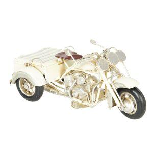 Retro kovový model motorka -  22*11*11 cm