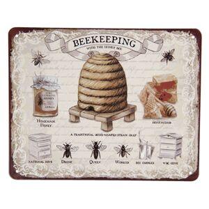 Retro plechová cedule Včelařství - 25*20 cm
