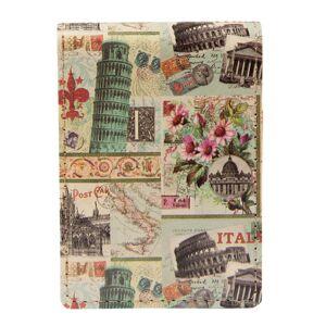 Retro zápisník Italy - 7*10 cm (60 stránek)