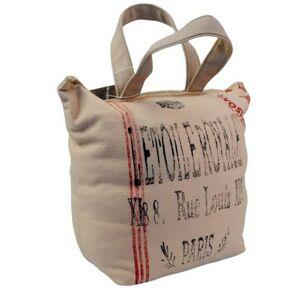 Růžová dveřní zarážka taška Paris - 15*10*20 cm Colmore by Diga