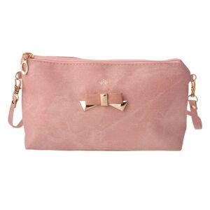 Růžová kabelka psaníčko Bow - 24*17 cm Juleeze
