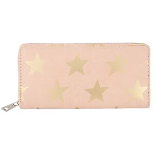 Růžová peněženka All stars - 19*9 cm Juleeze