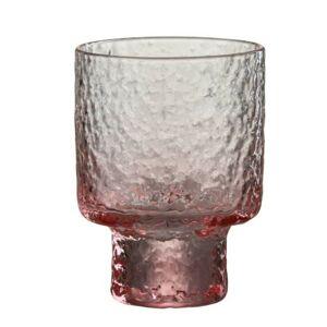 Růžová sklenička na likér Verma - Ø7*10 cm