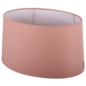 Růžové stínidlo ovál Ambienta pink - 30*21*14,5cm / E27 Collectione