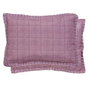 Růžový povlak na polštář - 35*50 cm Clayre & Eef