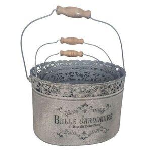 Sada 3ks plechový box s rukojetí Belle Jardiniere - 28*21*18 cm Ostatní