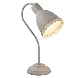 Šedá stolní lampa Aged - 14*23*38 cm Clayre & Eef