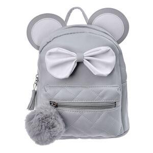 Šedý batoh s ušima Thiery - 21*11*23 cm
