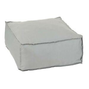 Šedý sedák / puf Hassock - 60*60*28 cm