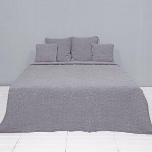 Šedý vintage přehoz na dvoulůžkové postele Quilt 181 - 180*260 cm