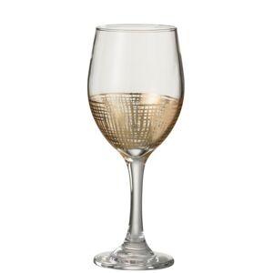 Sklenička na víno Grid - Ø 7*21 cm