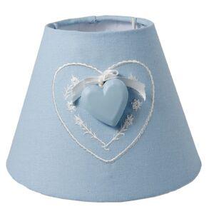 Stínidlo lampa Heart blue - Ø 17*13 cm Clayre & Eef