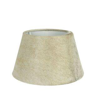 Stínidlo lampy z kravské kůže béžová - Ø 31*18,5cm