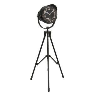 Stojací hodiny v designu stativu Gascon - 51*41*105 cm / 1*AA