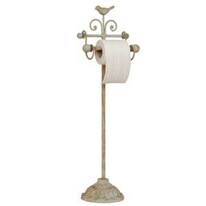 Stojan na toaletní papír - dekor ptáček - 22*10*69 cm Clayre & Eef