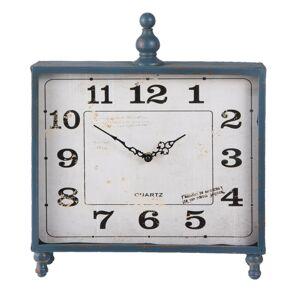Stolní hodiny Square  - 35*8*40 cm / 1xAA Clayre & Eef