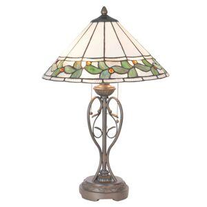 Stolní lampa Tiffany - Ø 40*62 cm Clayre & Eef