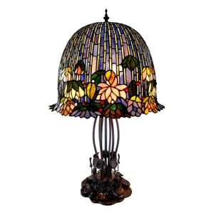 Stolní lampa Tiffany Leave - 45*45*75 cm Clayre & Eef