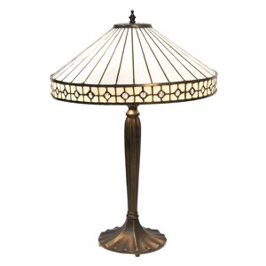 Stolní lampa Tiffany Small Diamand - Ø 40*58 cm Clayre & Eef