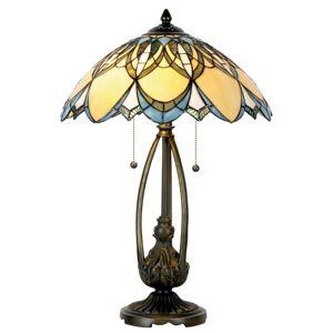 Stolní lampa Tiffany SUN - Ø 40*60 cm  Clayre & Eef