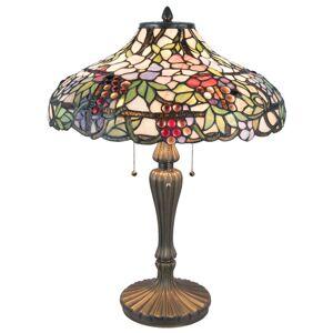 Stolní Tiffany lampa - Ø 46*60 cm Clayre & Eef