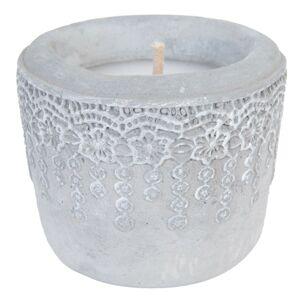 Svíčka v keramickém obalu - Ø 12*10 cm Clayre & Eef