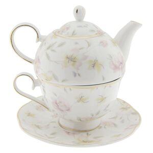Tea for one Tea Wild Flower -  15*15*16 cm Clayre & Eef