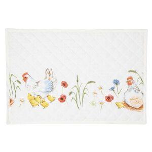Textilní prostírání Easter and Spring  - 48*33 cm - sada 6ks Clayre & Eef