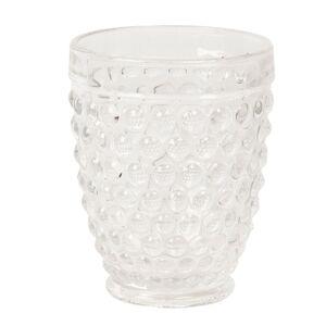 Transparentní sklenice na vodu - Ø 8*10 cm