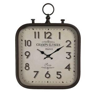 Vintage nástěnné hodiny Champs Elysees - 40*3*53 cm / 1*AA