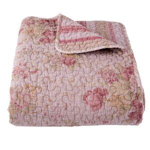 Vintage přehoz na dvoulůžkové postele Quilt 182 pink - 230*260cm