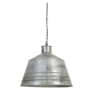 Závěsné světlo Brendy vintage stříbrné - Ø 55*50 cm Light & Living