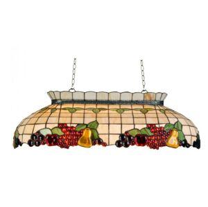 Závěsné svítidlo Tiffany Fruits - 94*41*115 cm 3x E27 / Max 60W Clayre & Eef