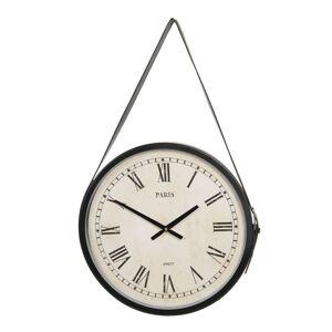 Závěsné vintage hodiny Paris 1907 - 42*4 cm