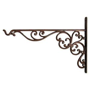 Závěsný litinový hák s ornamenty - 35 *2 * 25cm