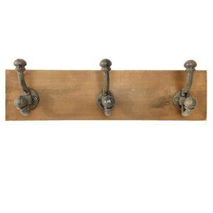 Závěsný věšák s háčky - 42*10*12 cm Clayre & Eef