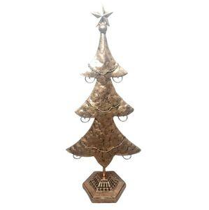 Zlatý kovový stromek s patinou Ostatní