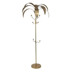Zlatý věšák na kabáty Palma - 69*188 cm Clayre & Eef