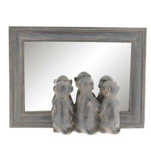 Zrcadlo v rámu se surikatami - 22*5*16 cm